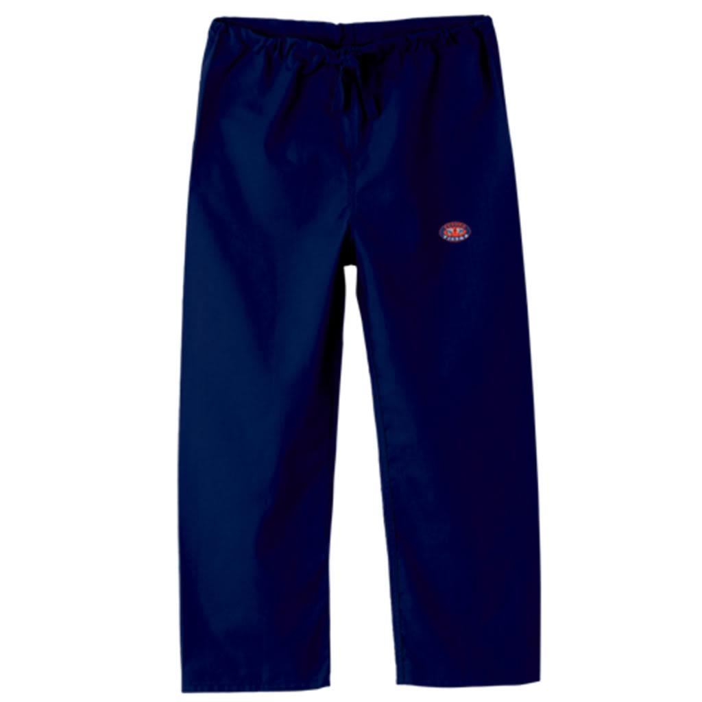 Gelscrub Unisex Navy Auburn Tiger Logo Scrub Pants