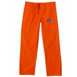 Gelscrub Unisex Orange Florida Gator Scrub Pants - Thumbnail 0