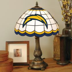 Tiffany-style San Diego Chargers Lamp - Thumbnail 0