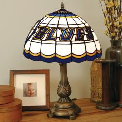 Tiffany-style St. Louis Blues Lamp - Thumbnail 0