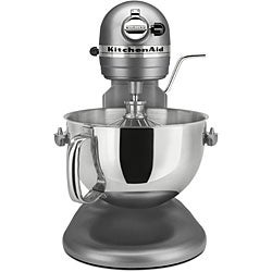 KitchenAid RKV25G0XCU Contour Silver 5-quart Pro 5 Plus Bowl-Lift Stand Mixer (Refurbished) - Thumbnail 1