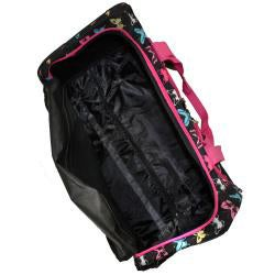 Rockland Deluxe 22-in Butterfly Carry-on Rolling Duffel Bag - Thumbnail 1