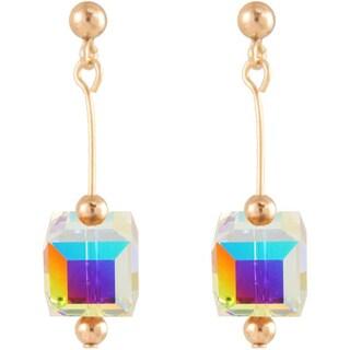 'Arctic Crystal' 14k Gold Fill Earrings