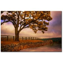 Lois Bryan 'One Tree Hill' Canvas Art - Thumbnail 2