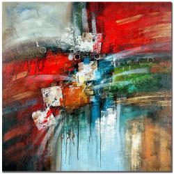 Rio 'Cube Abstract IV' Medium Canvas Art