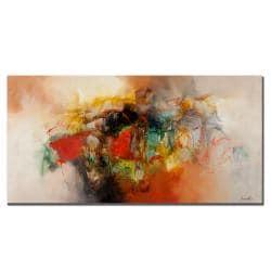 Zavaleta 'Abstract VI' Medium Canvas Art