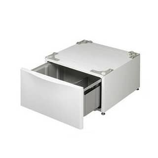 LG 14-inch Front Load Washer/ Dryer Top Mount Pedestal (Refurbished)|https://ak1.ostkcdn.com/images/products/5639058/P13392985.jpg?impolicy=medium