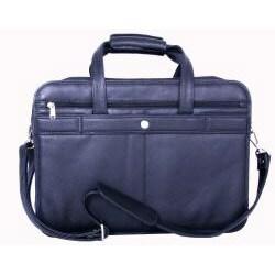 Cambridge Black Leather Briefcase