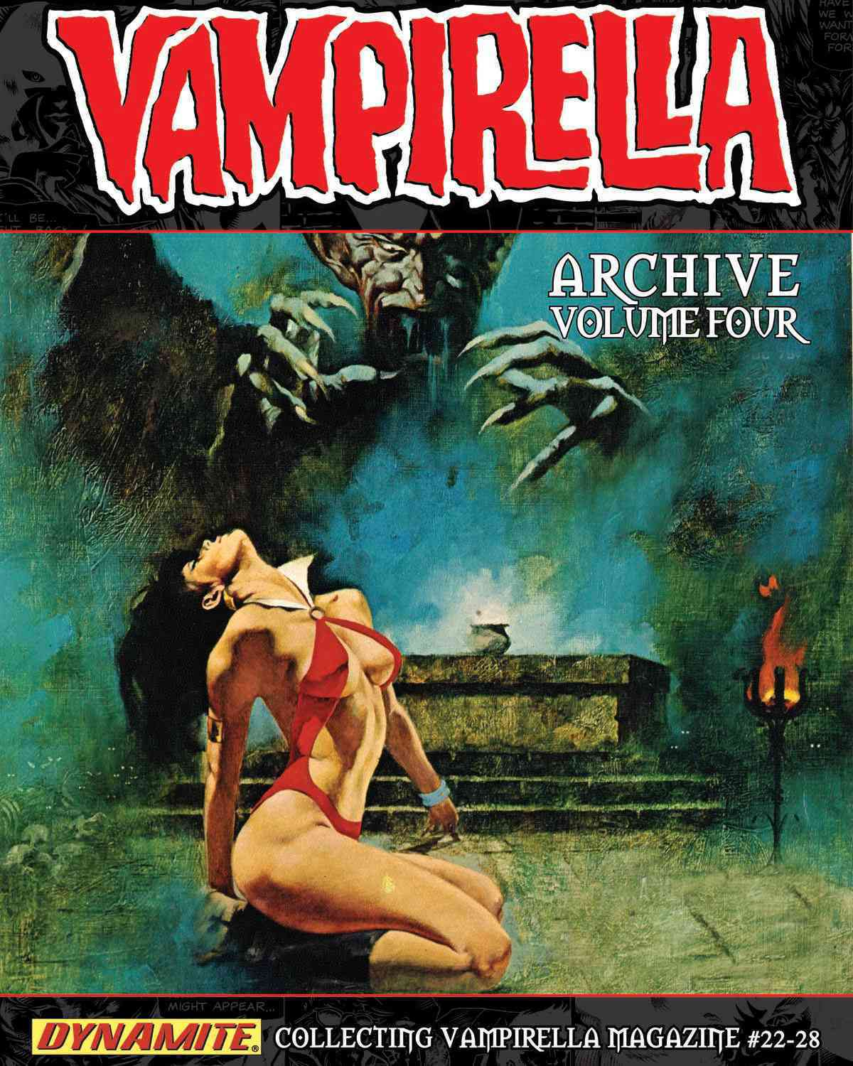 Vampirella Archives 4 (Hardcover)