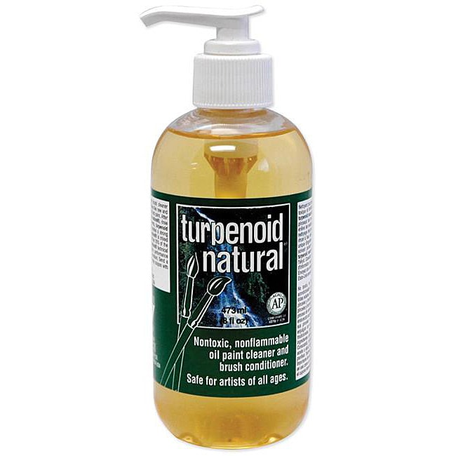 MARTIN Turpenoid Natural 8-oz Turpentine Substitute (Natu...