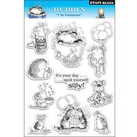 Penny 'Black Bubbly' Clear Stamp Sheet