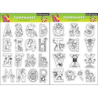 Penny 'Zoophabet' Clear Stamp Sheet