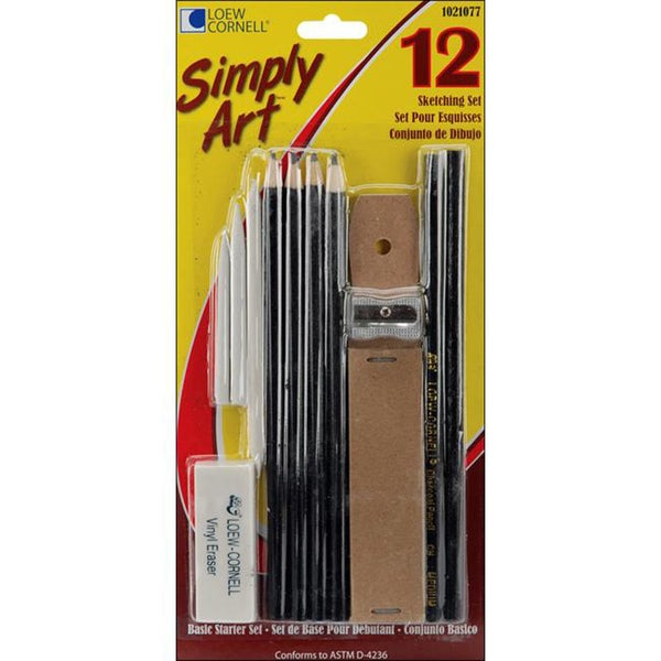 Simply Art 12-piece Sketching Set