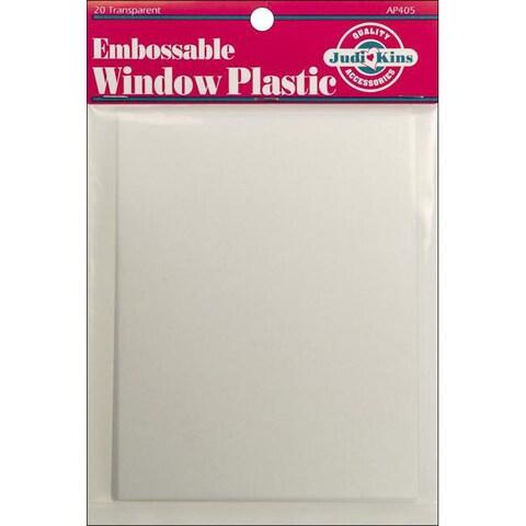 Embossable Window Plastic Sheets