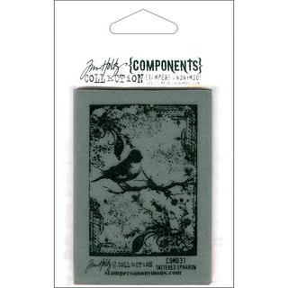 Tim Holtz 'Tattered Sparrow' Cling Rubber Stamp