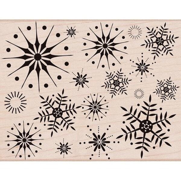 Hero Arts 'Stunning Snowflakes' Wood Stamp