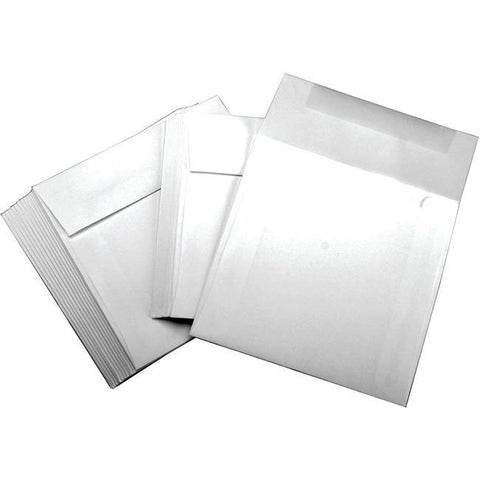 Leader Paper Products White 6-inch Square Envelopes (Case of 25)
