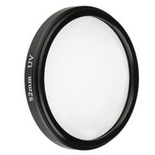INSTEN Black 52mm Ultra Violet Lens Filter