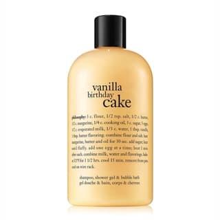 Philosophy 16-ounce Vanilla Birthday Cake Shampoo/ Shower Gel/ Bubble Bath|https://ak1.ostkcdn.com/images/products/5641626/P13395011.jpg?impolicy=medium