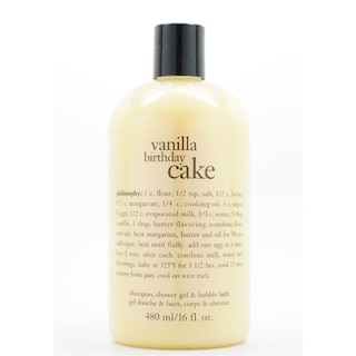 Philosophy 16 Ounce Vanilla Birthday Cake Shampoo Sho