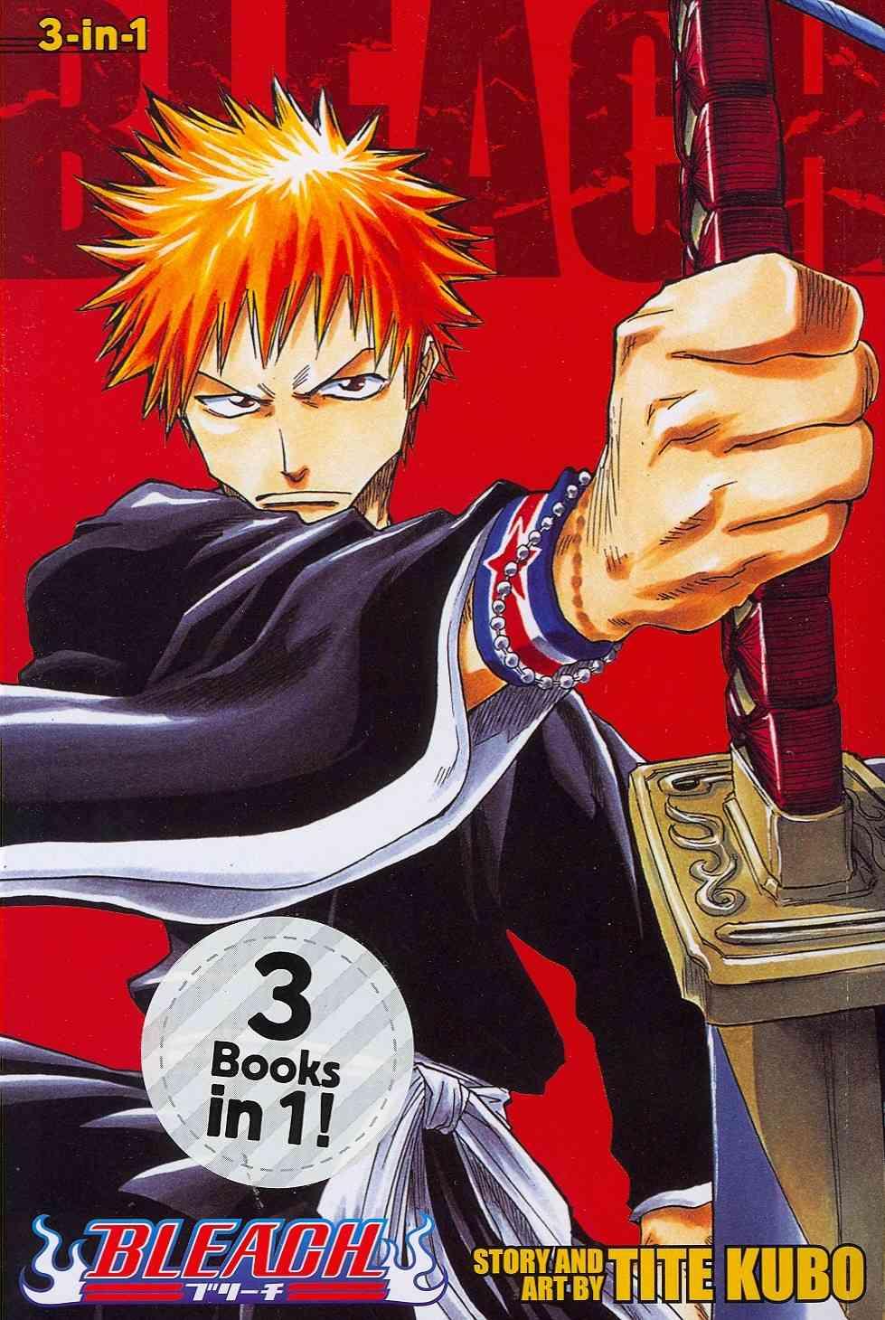 Bleach 1-2-3: Shonen Jump Manga Omnibus Edition (Paperback)