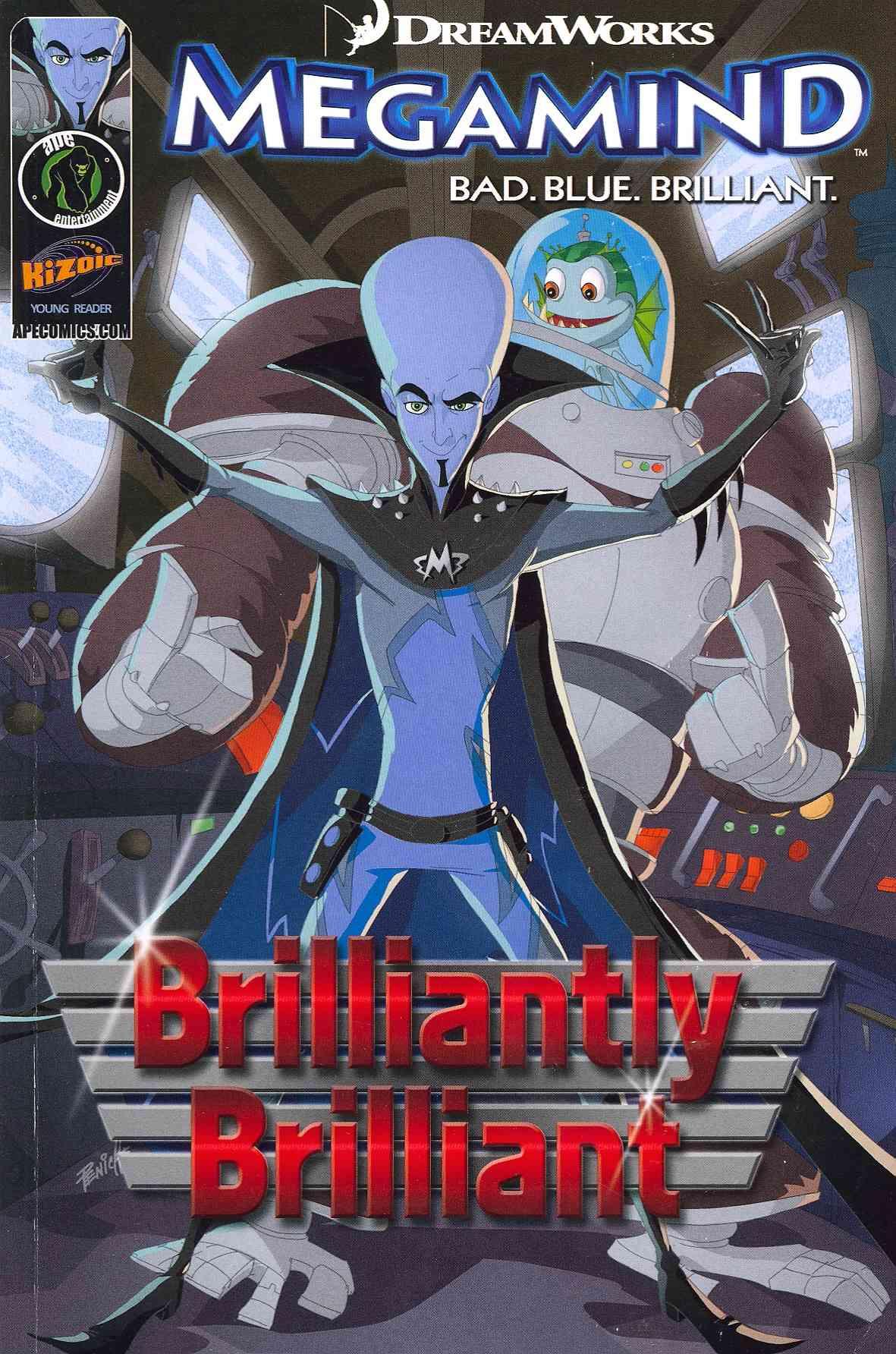 Megamind 1: Brilliantly Brilliant (Paperback)