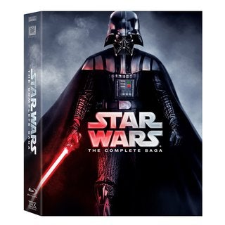 Star Wars: Complete Saga (Blu-ray Disc)