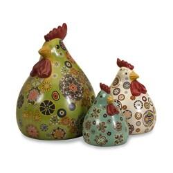 Americana 3-piece Fiesta Chickens