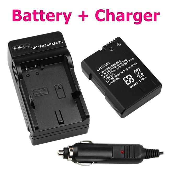 Li-ion Battery/ Battery Charger Set for Nikon EN-EL14/ CoolPix P7000