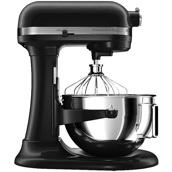 Kitchenaid 5 Quart Professional Mixer KitchenAid RKV25G0XOB Onyx Black 5-quart Pro 5 Plus Bowl ...