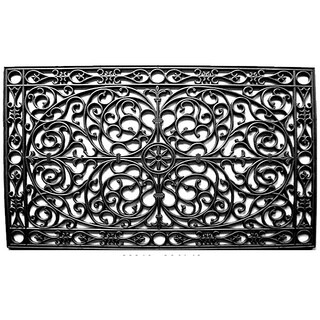Renaissance Rectangle Rubber Door Mat (30x48)