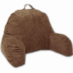 Chocolate Microsuede Bed Rest