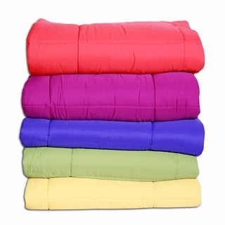 Microfiber Down Alternative Throw