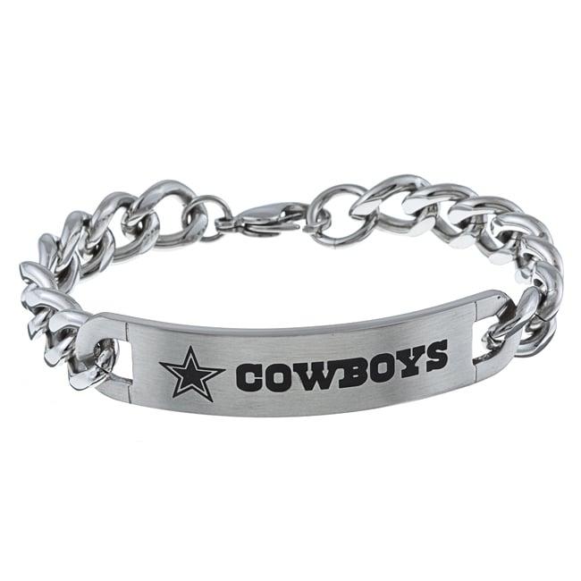 stainless steel dallas cowboys link bracelet free. Black Bedroom Furniture Sets. Home Design Ideas