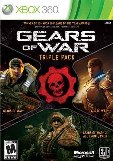 Xbox 360 - Gears of War Triple Pack