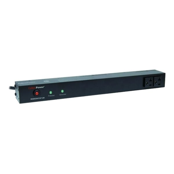 CyberPower Rackbar Surge Suppressor RM 1U RKBS20ST2F12R 20A 14-Outlet