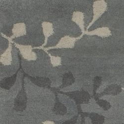 Hand-tufted Painterly Grey Wool Rug (3'3 x 5'3) - Thumbnail 2