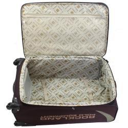 Rockland Polo Equipment Expandable 3-pc Luggage Set