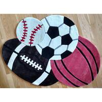 Hand-tufted All Sports Rug - 2'8 x 3'9
