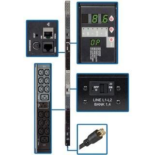 Tripp Lite PDU 3-Phase Monitored 208V 8.6kW L21-30P 30 C13; 6 C19 0UR