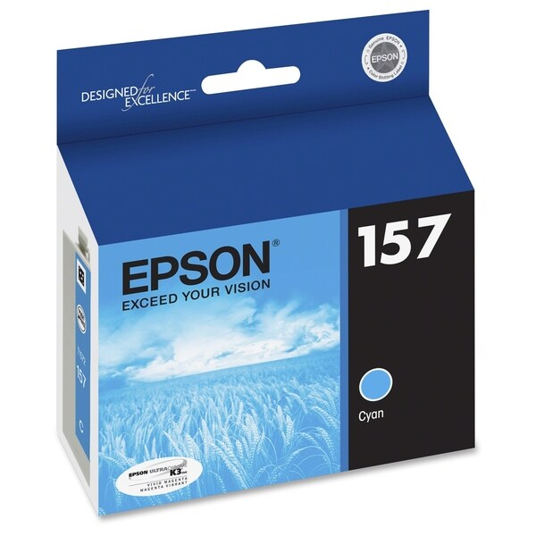 Epson UltraChrome K3 T157220 Original Ink Cartridge - Cyan