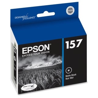 Epson UltraChrome K3 T157820 Original Ink Cartridge - Matte Black