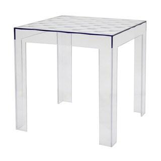 Parq Modern Clear Acrylic End Table