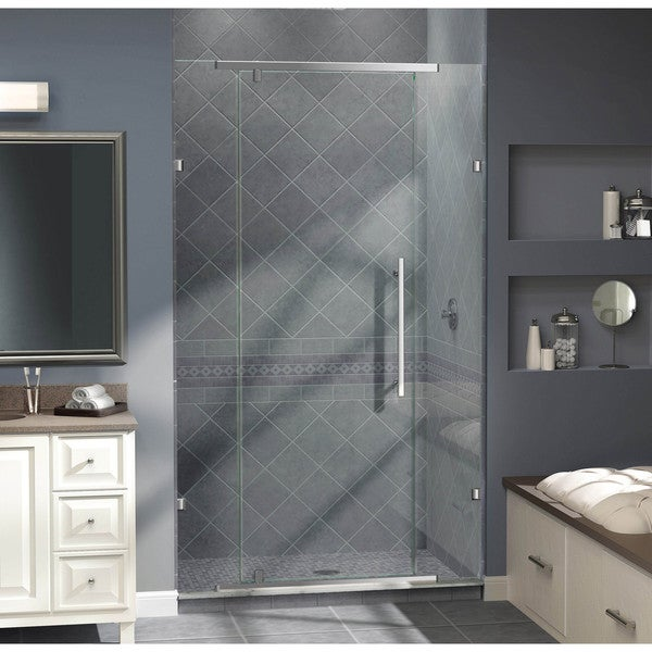 Shop Dreamline Vitreo 58 125x76 Inch Frameless Pivot