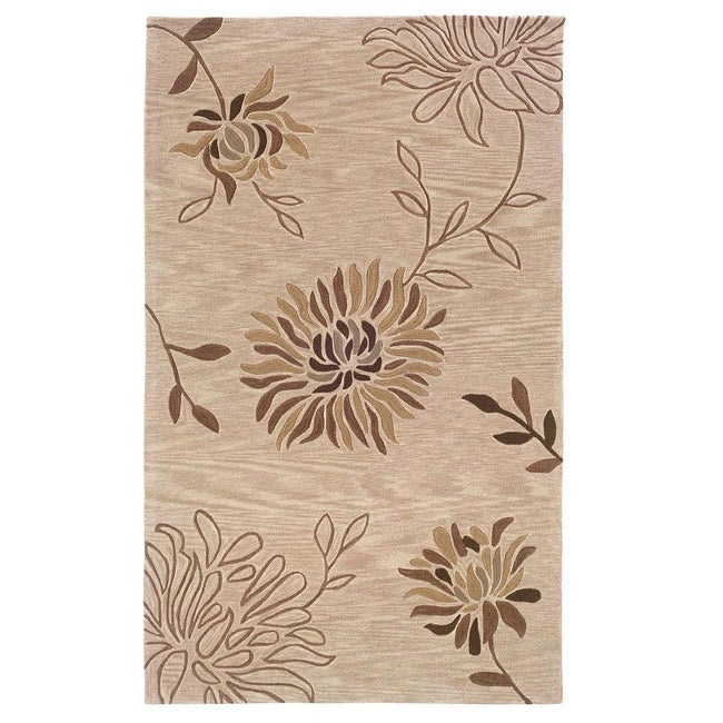 Urban Fashions Hand-tufted Brown Rug (7'9 x 9'9)