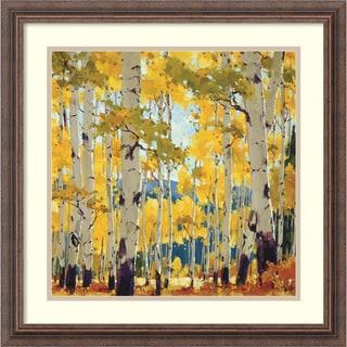 William Hook 'September Aspen' Framed Art Print