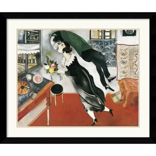 Marc Chagall 'Birthday' Framed Art Print