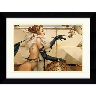 Michael Parkes 'The Creation' Framed Art Print