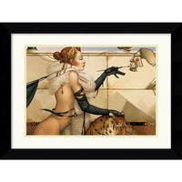 Framed Art Print 'The Creation' by Michael Parkes 25 x 20-inch