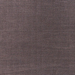Hand-crafted Solid Brown Casual Ridges Wool Rug (7'6 x 9'6) - Thumbnail 2